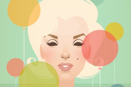 marilyn-monroe-illustrations